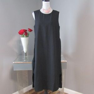 NEW Alfani Urban Romance Black Layer Sheath Dress